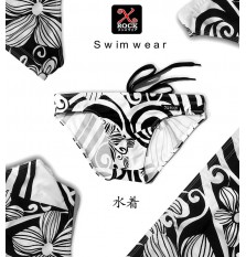 X-Rock Swimwear BlackFlower